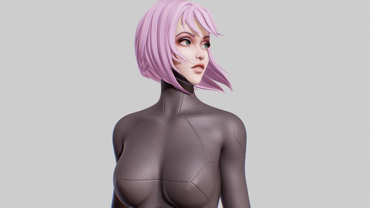 Android Remake 3D Model