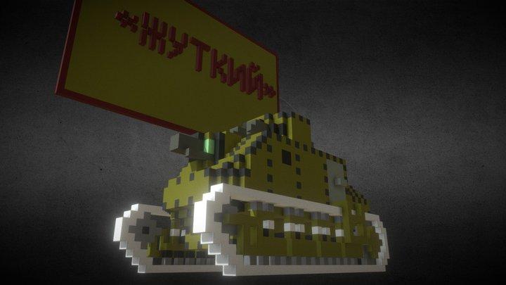 Tank Jutkii 3D Model
