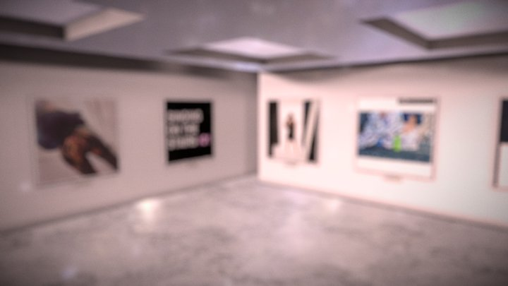 Instamuseum for @madeleinewood_official 3D Model
