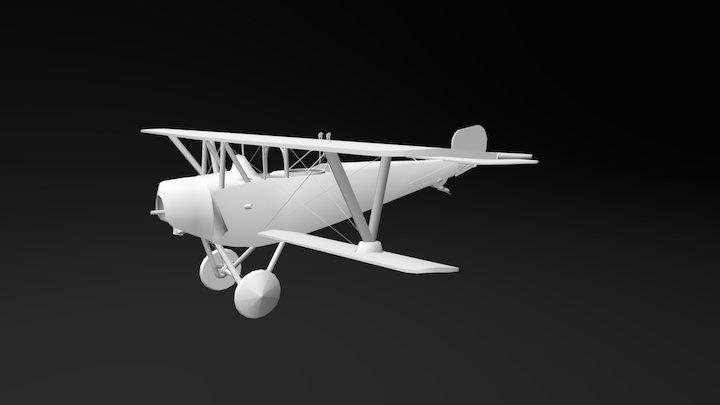 Nieuport 12 - La Première Guerre mondiale 3D Model