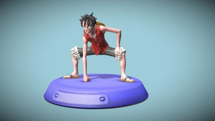 Monkey D Luffy 3D Model