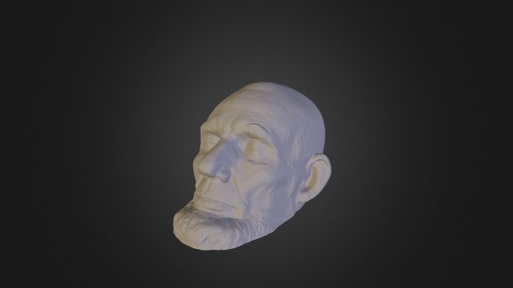 Abraham Lincoln (by Smithsonian Institute) 3D Model