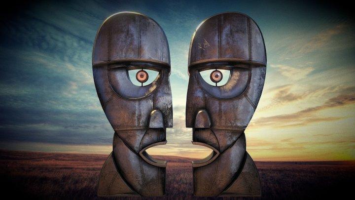 Pink Floyd Division Bell Statue 3D Version 3 3D Model
