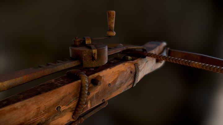 hunting crossbow 3D Model