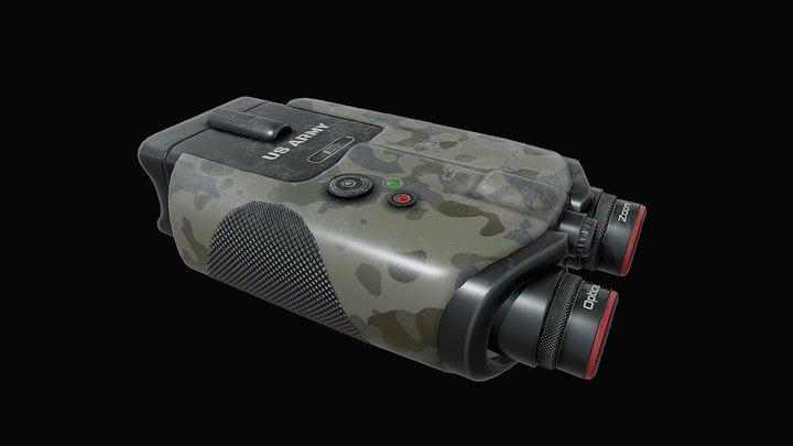Military Binocular 3D Model