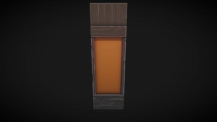 Wall Tile 01 3D Model