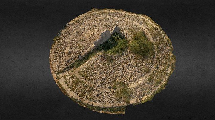 Dolmen de la croix de l'Yeuse (34) 2020 3D Model