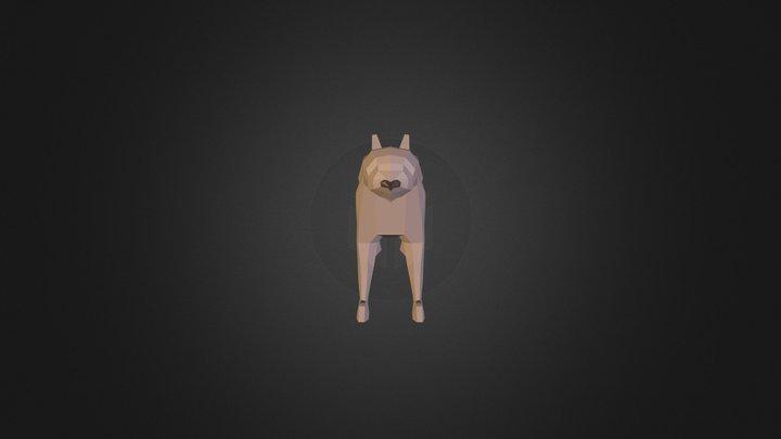 Low Poly Cat 3D Model