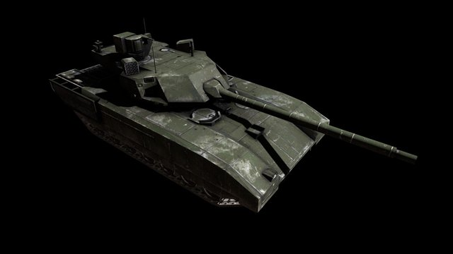 T14 Tank - Armored Aces 3D Model