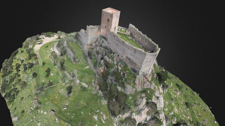 Burgos Castle - Castello di Burgos 3D Model