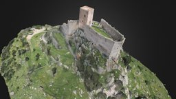 Burgos Castle - Castello di Burgos 3D Model