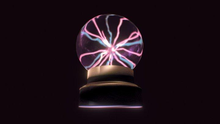 Crystal Magic Ball 3D Model