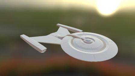 Star Trek - USS Discovery NCC-1031 3D Model