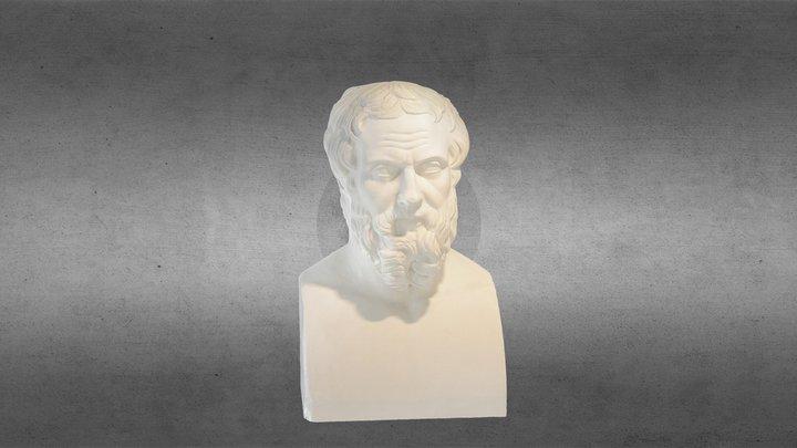 Doppelherme des Thukydides und des Herodot 3D Model