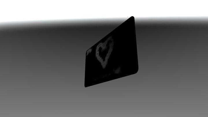 TK Bussiness Card 3D Model