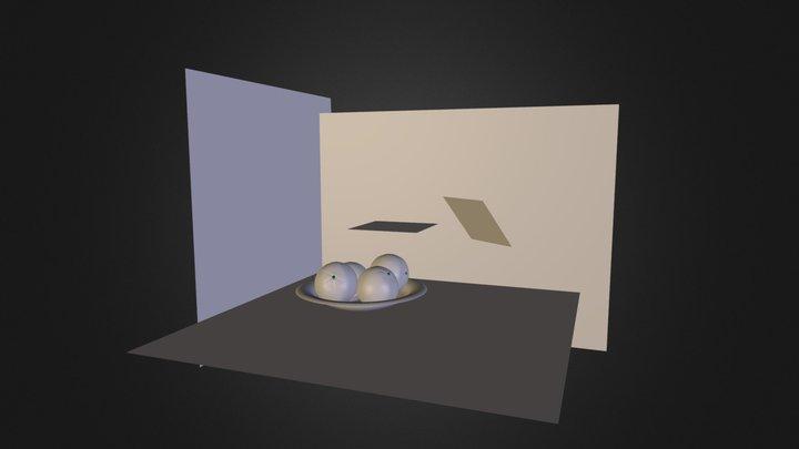 Glasschüssel 3D Model