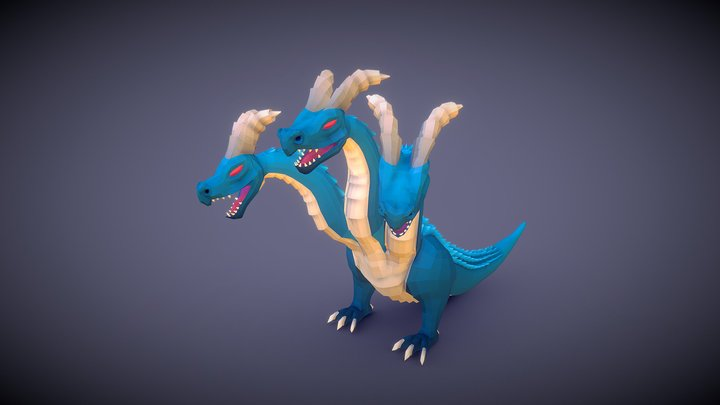 Hydra of Lerna Lake 3D Model