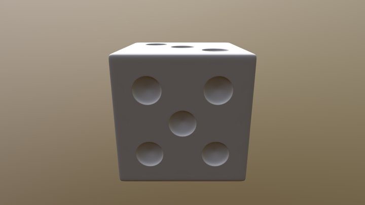 High Poly Dice [Tutorial] 3D Model
