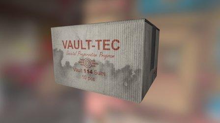 Vault Box Example 3D Model