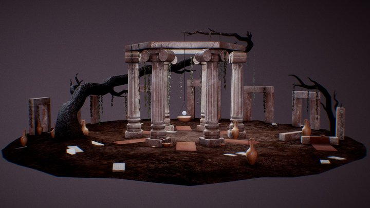 Shrine of the Oracle 3D Model