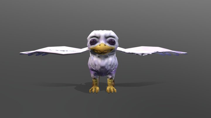 Baby Griffin 3D Model