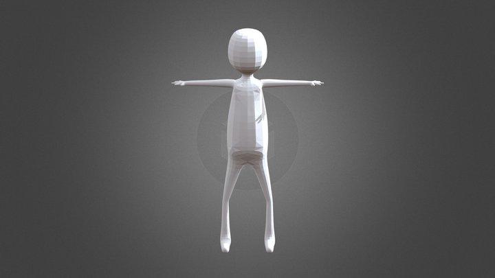 Character Base Skin Modifier 3D Model
