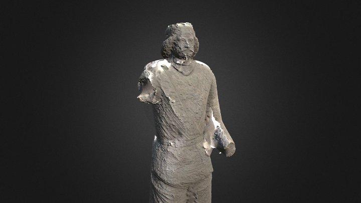 Ashkani Man (Shami Statue) 3D Scan 3D Model