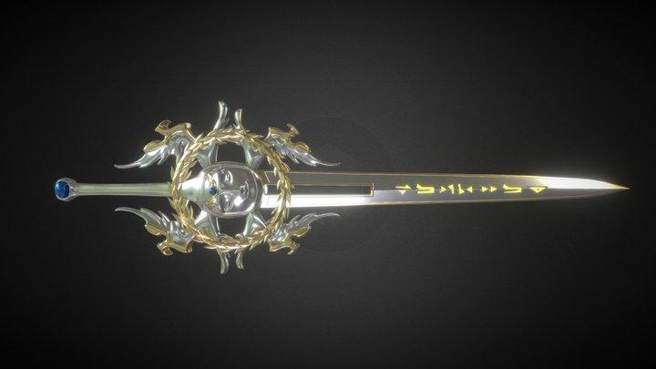 Holy Sword 3D Model