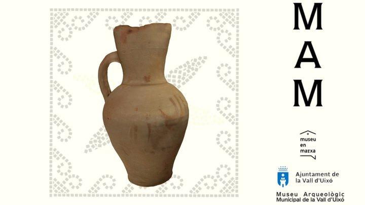 MAMUIXO 20/06 Jarra de cerámica. 3D Model