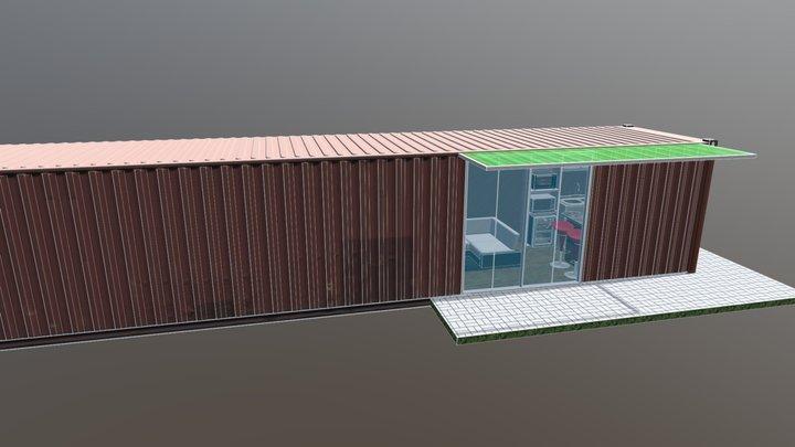 Tiny Home V1 3D Model