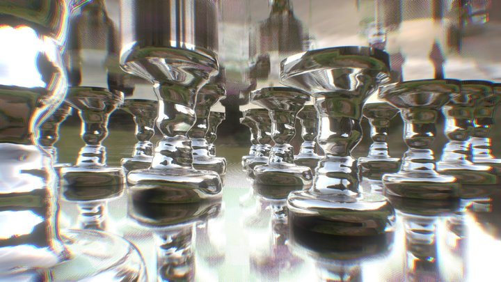 Face reflection 3D Model