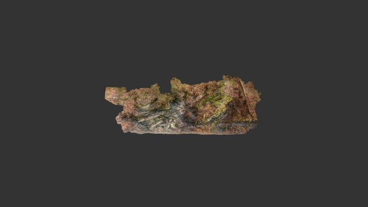 Dovzan gorge Carboniferous tempestite section 3D Model
