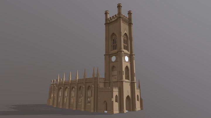 St. Luke's Liverpool (existing) 3D Model