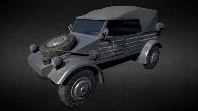 Volkswagen Kübelwagen 3D Model