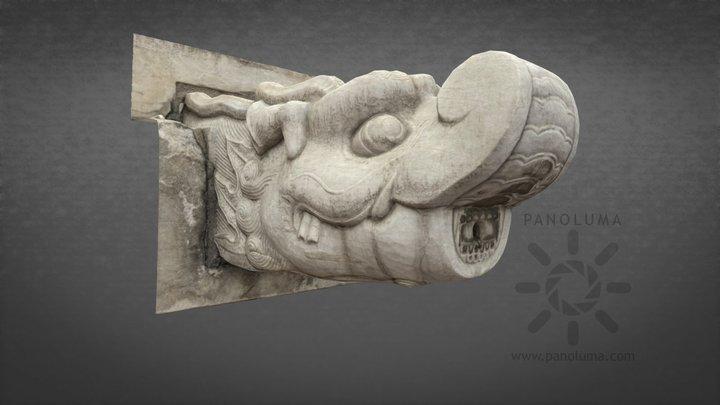 Chinese Dragon Spout 3D Model