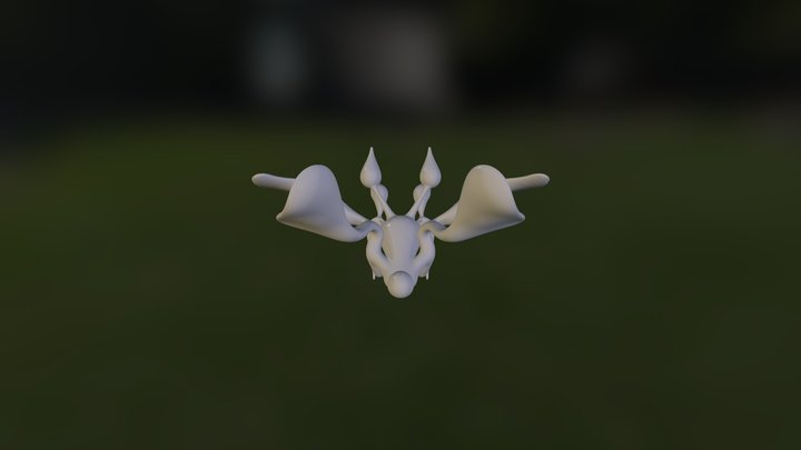 My first 123D Creature 3D Model