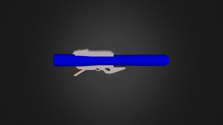 Gjallarhorn - Destiny Weapon 3D Model