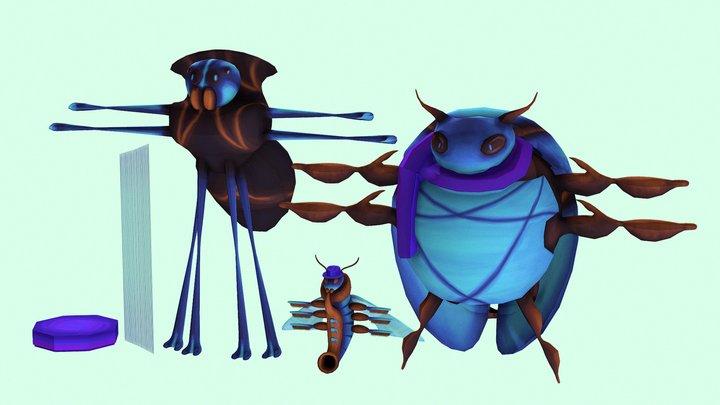 Characters 3D Model