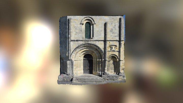 St Emillion église 3D Model