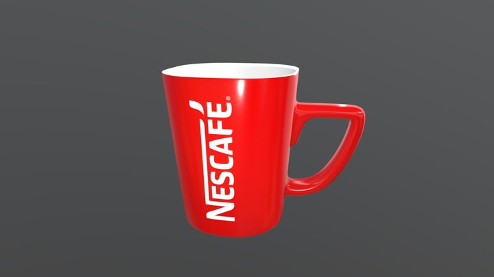 Nescafe Mug 3D Model