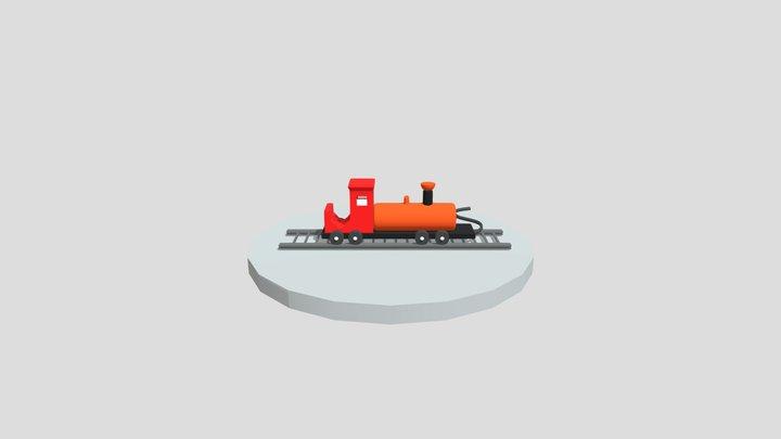 Toytrain 3D Model