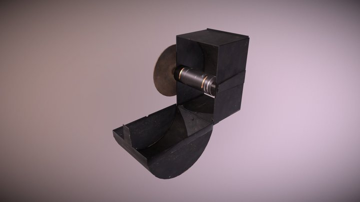 Oprolhouder 3D Model