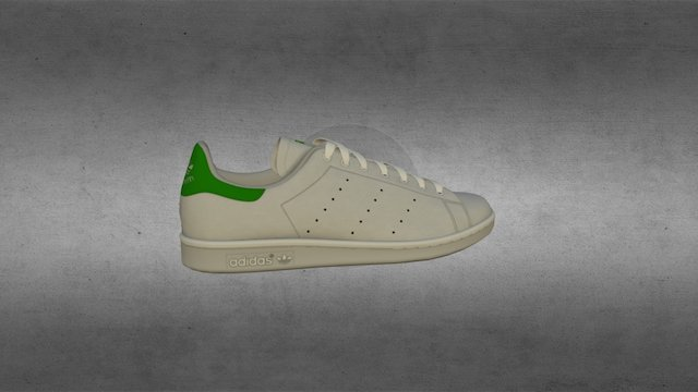 Adidas Stan Smith 3D Model