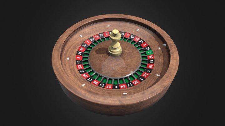 Roulette Anim Test 3D Model