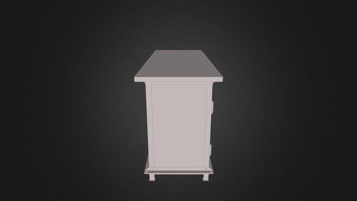 Combine9 Cabinet 3D Model