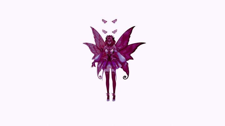 Lux butterfly 3D Model