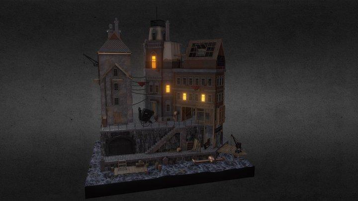 Diorama 1888 3D Model