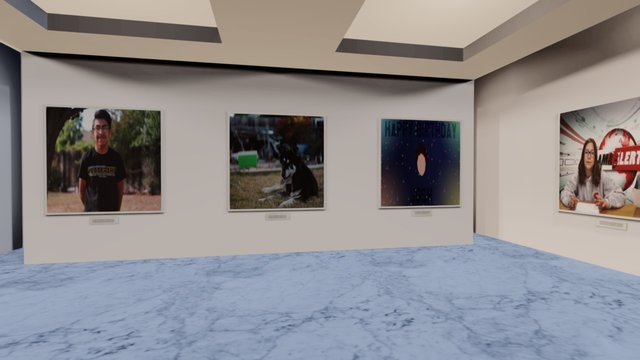 Instamuseum for @Nekolos 3D Model