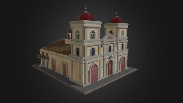San Fulgencio Church, Gibara 3D Model