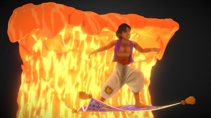 Aladdin 3D Model